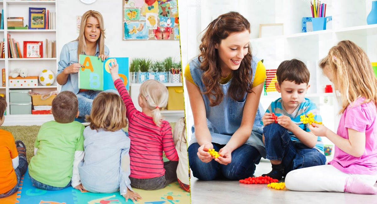 Difference Between a Nursery and a Daycare